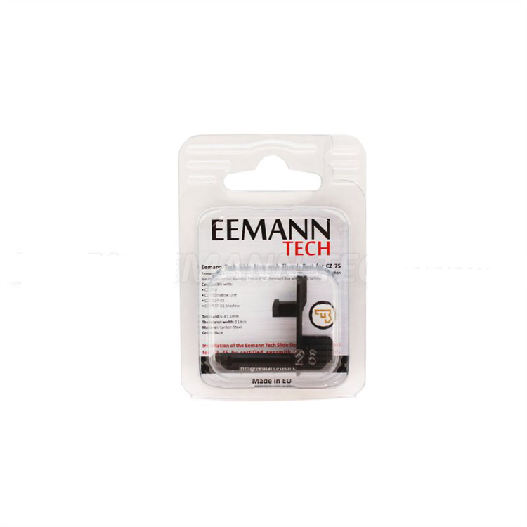 Eemann Tech - Slide stop with thumb rest for CZ75