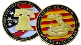 Challange coin - Dont tread on me