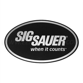 Sig Sauer - When it counts  - Sticker