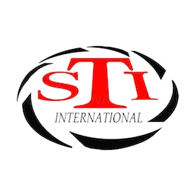 STI logo - Sticker
