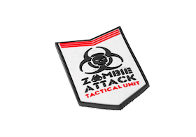 3D Zombie Attack PVC Patch