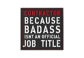 Contractor rubber patch