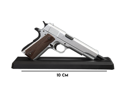 GoatGuns - Mini 1911 Model - Silver