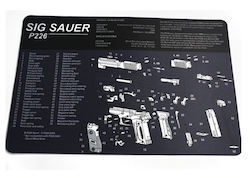 Sig Sauer P226 Gun Cleaning Bench Mat