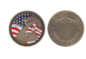 Challange coin - Constitution Second Amendment