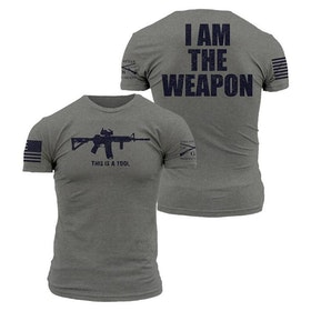 Grunt Style - I Am The Weapon - T-Shirt