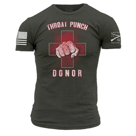 Grunt Style - Throat Punch Donor - T-Shirt