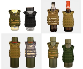 Military Tactical Beer Molle Vest