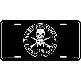Eagle Emblem - Licens plate - 2nd amendment
