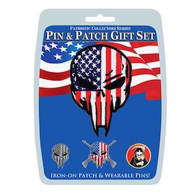 Eagle Emblem - Gift set - Sniper Skull (Pin & Patch)