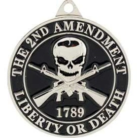 Eagle Emblem - Key ring - 2nd amendment