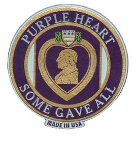 Eagle Emblem - Magnet - Purple heart