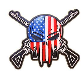 Eagle Emblem - Magnet - Sniper skull rifles
