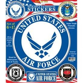 Eagle Emblem - Stickers - USAF