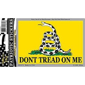 Eagle Emblem - Sticker - Dont tread on me