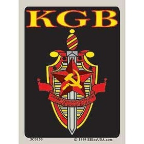 Eagle Emblem - Sticker - KGB