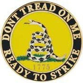 Eagle Emblem -  Dont tread on me - Pin