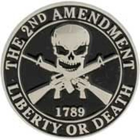 Eagle Emblem -  2nd amendment - Pin