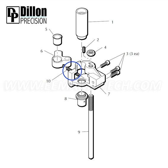 Eemann Tech - Springs kit for Dillon XL650/XL750