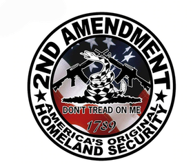 Sticker - 2nd amendment