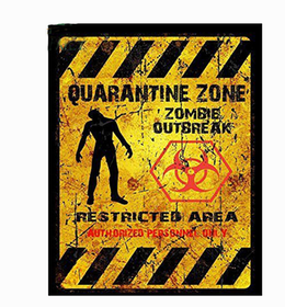 Quarantine zone - Sticker