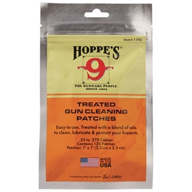 Hoppe's No. 9 - Treated gun cleaning patches