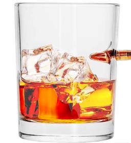 Lucky Shot - Bullet rocks glass .308 win, 30 cl