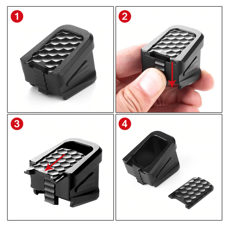 Magazine Base Pad Mag Extension Kit For Glock