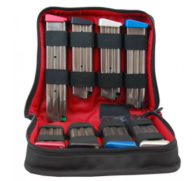 CED/DAA -  8- Pack Deluxe Zippered Magazine Storage Case