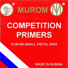 Murom - Primers Small Pistol Magn KVB-9M