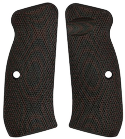 LokGrips - CZ 75 Palm Swell Full Checkered