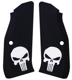LokGrips - CZ Shadow 2 Thin Full Checkered - Punisher