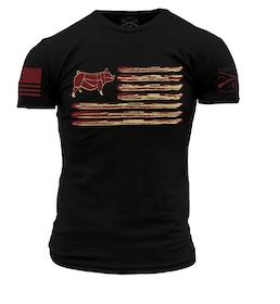 Grunt Style - Bacon Flag - T-Shirt