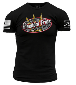 Grunt Style - Uncle Sam's Freedom Fries - T-Shirt