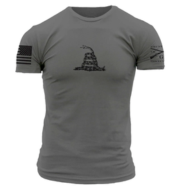 Grunt Style - Gadsden Basic - Heavy Metal - T-Shirt
