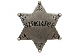 Denix -  Sheriff star badge