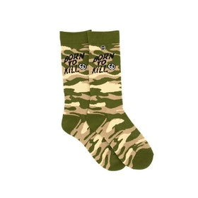Grunt Style - Born To Kill Crew Socks