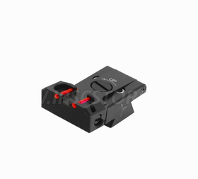 "Eemann Tech - Adjustable rear sights with fiber optics ""Novak Type"" for 1911/2011"