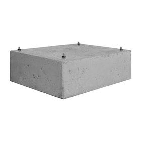 Scandinavian Safe - Betongsockel 80 kg, förborrad inkl. bult
