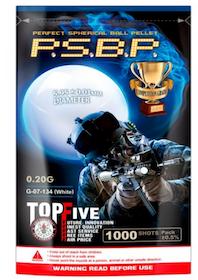 G&G PSBP PERFECT BB 0.20G 1000RND (WHITE)