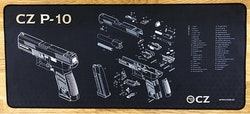 CZ - P-10 C Maintenance Bench Mat