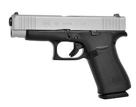 Glock 48 FS Silver Slide, 9 mm