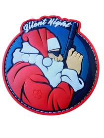 Silent Night - 3D rubber Patch