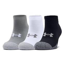 Under Armour - Adult HeatGear Lo Cut Socks 3-Pack