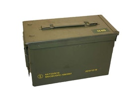 Swedish Armed forces - Ammunition box (used)