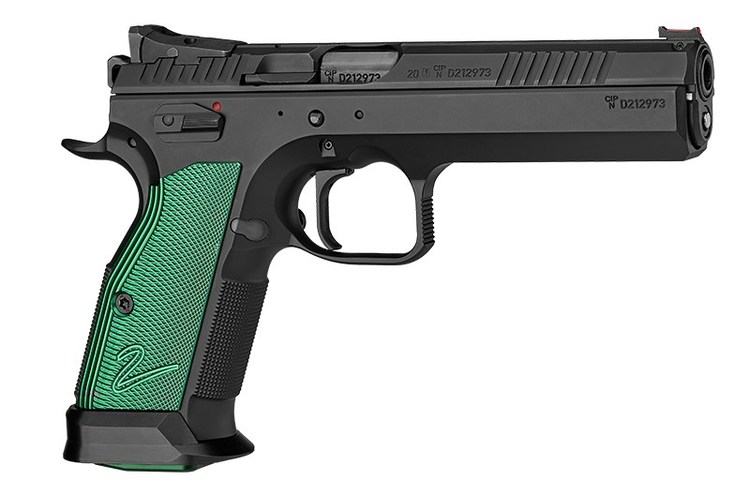 CZ - Tactical sports 2 - 9mm - Racing green