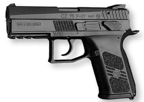 CZ P-07 Decocking and manuel saftey - 9mm