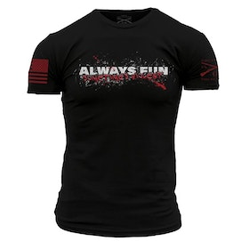 Grunt Style - Always fun, sometimes violent - T-Shirt