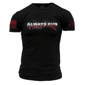Grunt Style - Always fun, sometimes violent - T-Shirt