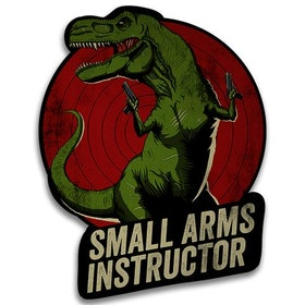 RU - T-Rex Small Arms Instructor - Sticker
